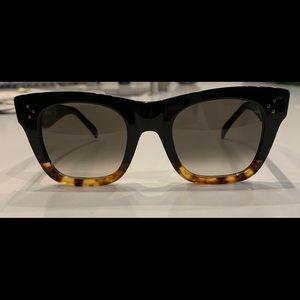 Celine CL41089/S FUZ3 black Havana brown sunglasse
